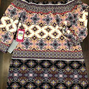 NWT Vince Camuto Off the Shoulder Dress
